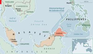 Bangsamoro and Malaysia Map
