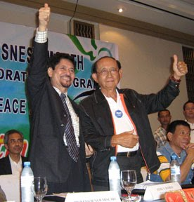 MNLF's Misuari and GRP's FVR