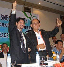 MNLF's Misuari and GRP's FVR