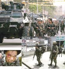 MNLF-AFP stand off Zamboanga City