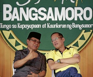 GRP's PNoy and MILF's Murad