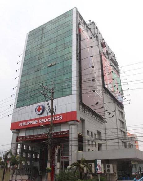 The New Philippine Red Cross Tower.