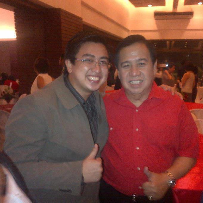 Chance encounter during his Birthday Celebration last 2012